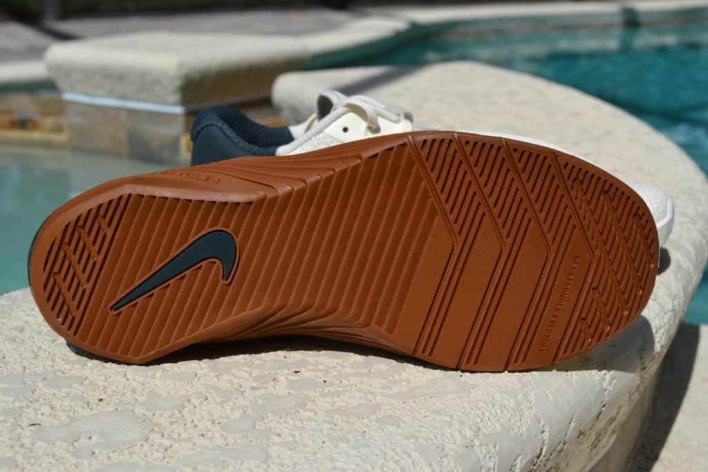 Nike Metcon 5 Cross Training Shoe for Men in Pale Ivory/Seaweed/Light British Tan/Black