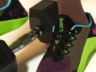 Nike Metcon 5 AMP - Black/Green Strike/Blue Fury/Fire Pink