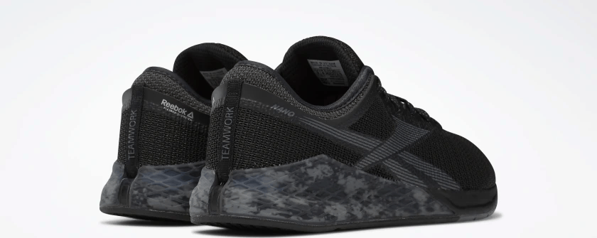 Reebok Nano 9 - Black/Cold Grey 7/Grey