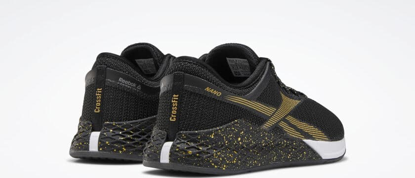 Reebok Nano 9 - Black/White/Matte Gold