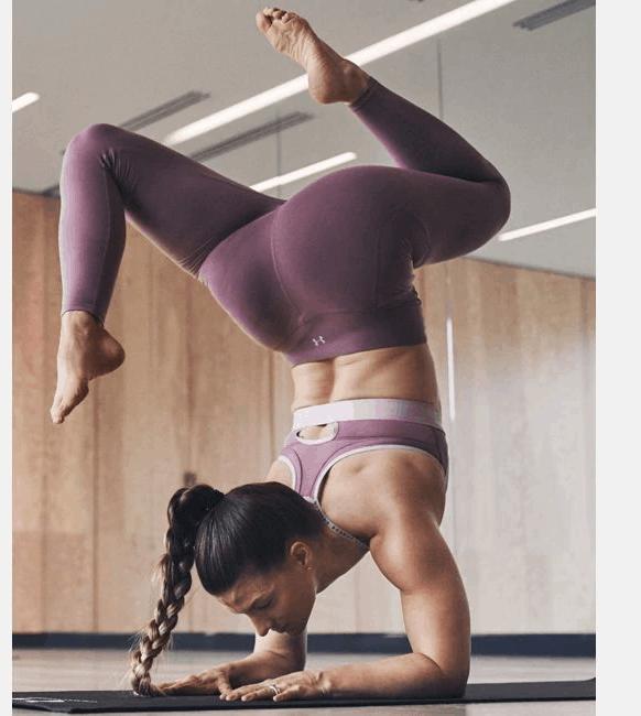 Women's UA Meridian Leggings - Yoga Pose