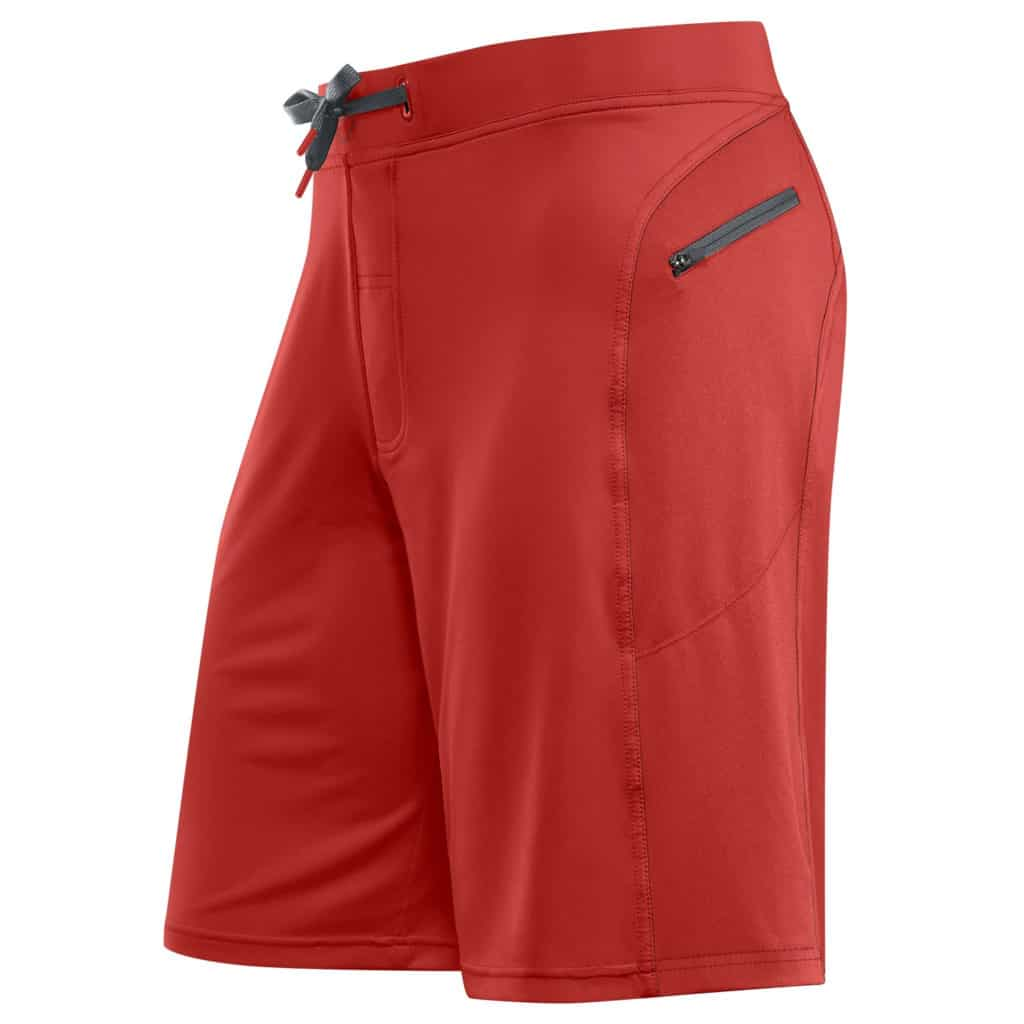 Front view of the Helix II Men's Workout Short for CrossFit and HIIT - Brick