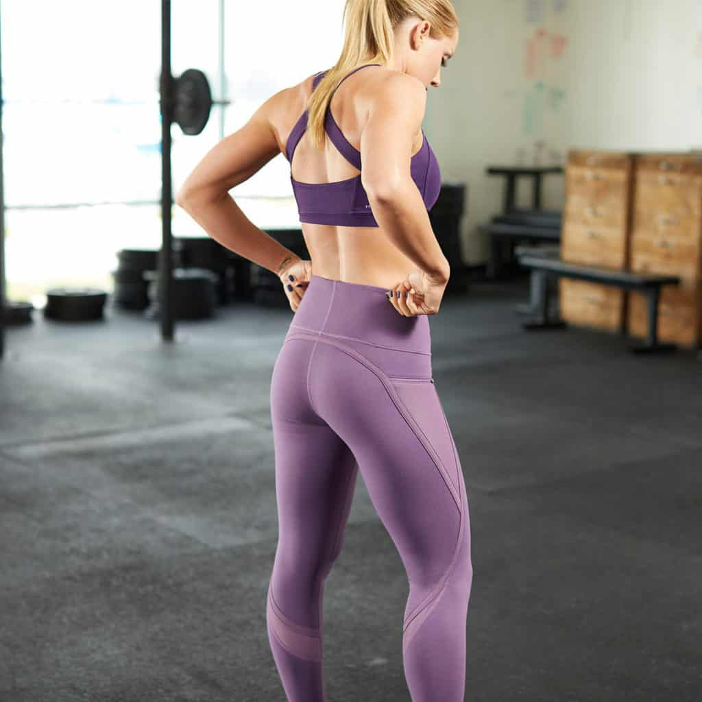 Nimbus Workout Tights from Hylete - Orchid