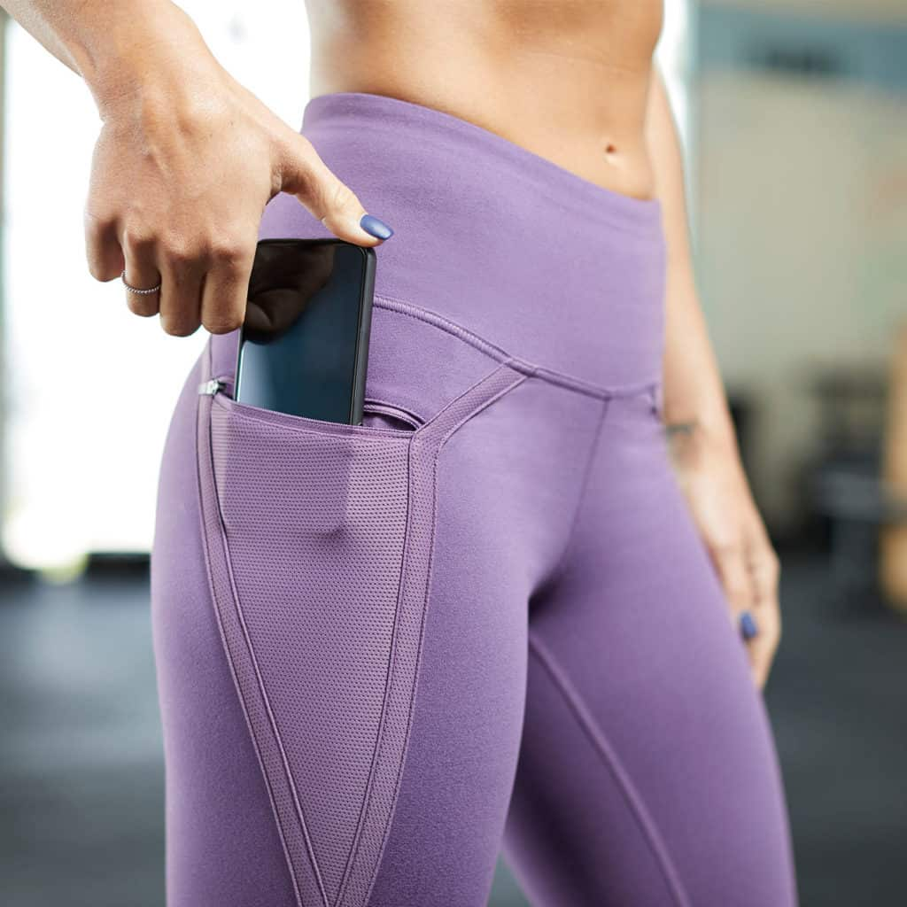 Nimbus CrossFit Workout Tights from Hylete - have a zippered pocket