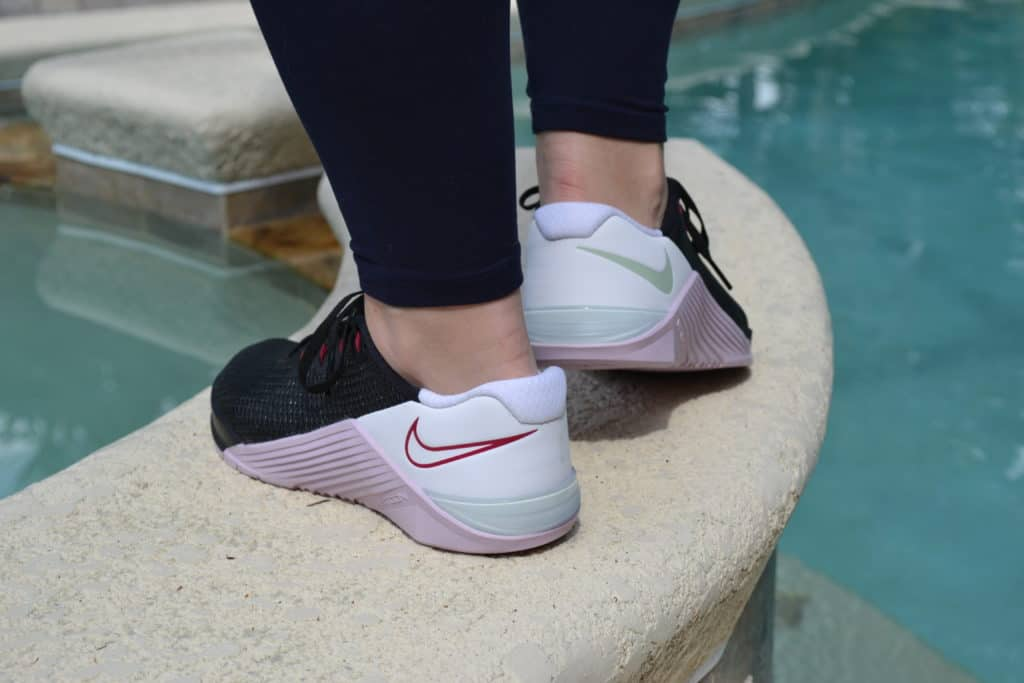 Nike Metcon 5 Women's Cross Training Shoe - U Complete Me or Black/Pistachio Frost/White/Noble Red