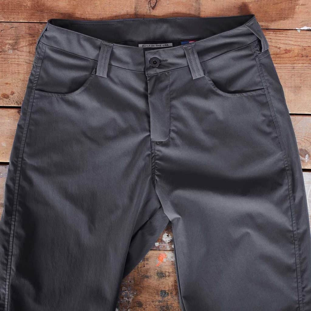 GORUCK Simple Pants have front and back pockets, and belt loops.