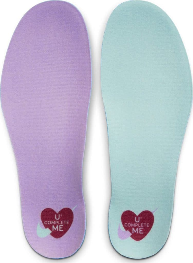 Insoles of the New Nike Free x Metcon 2 Women's Cross Trainer - U Complete Me for Valentine's Day