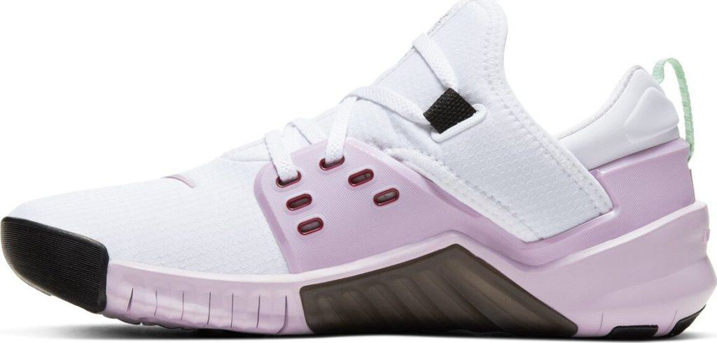 Side view of the New Nike Free x Metcon 2 Women's Cross Trainer - U Complete Me for Valentine's Day