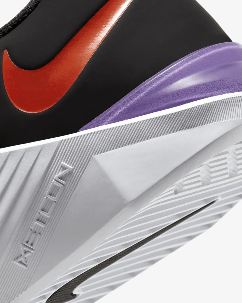 NIke Metcon 5 - Heel Closeup