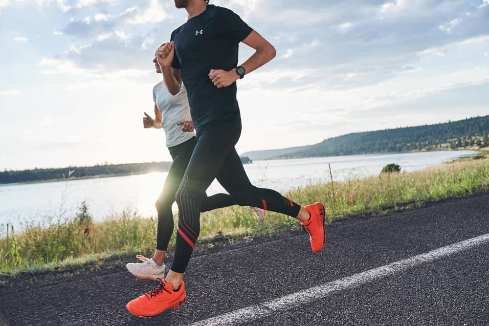 On the road with the UA HOVR Machina Running Shoe