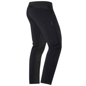 Back view of Hylete Ion Pant - CrossFit Workout Pants for Men - in Black
