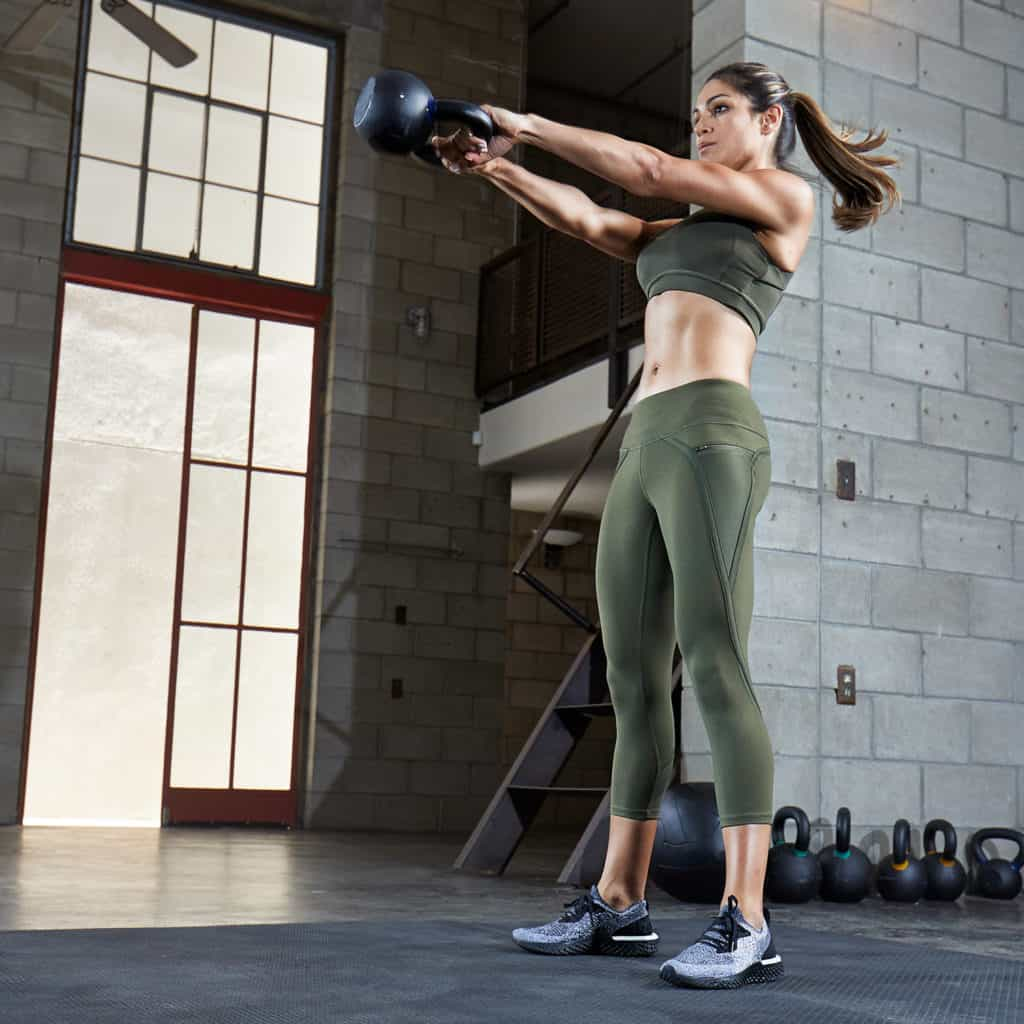 Nimbus Capri Tights from Hylete - Great for CrossFit - in the gym