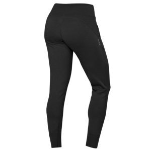 Back view of Hylete Flexion Pants - Workout Pants for Women in Black