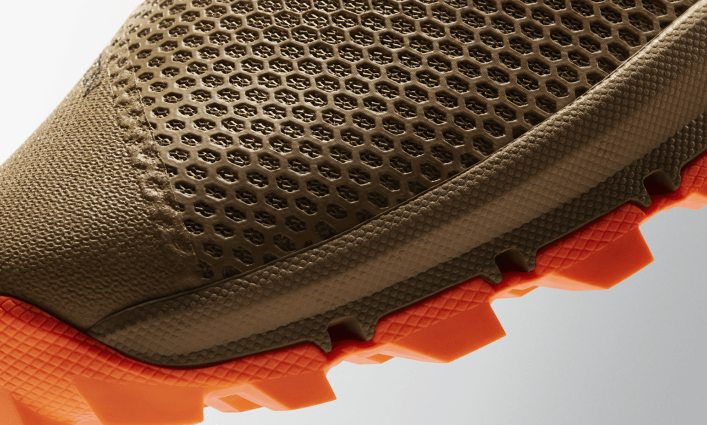 The Nike MetconSF is the first all-terrain metcon shoe. Look at the deep lugs on that boot-like sole!