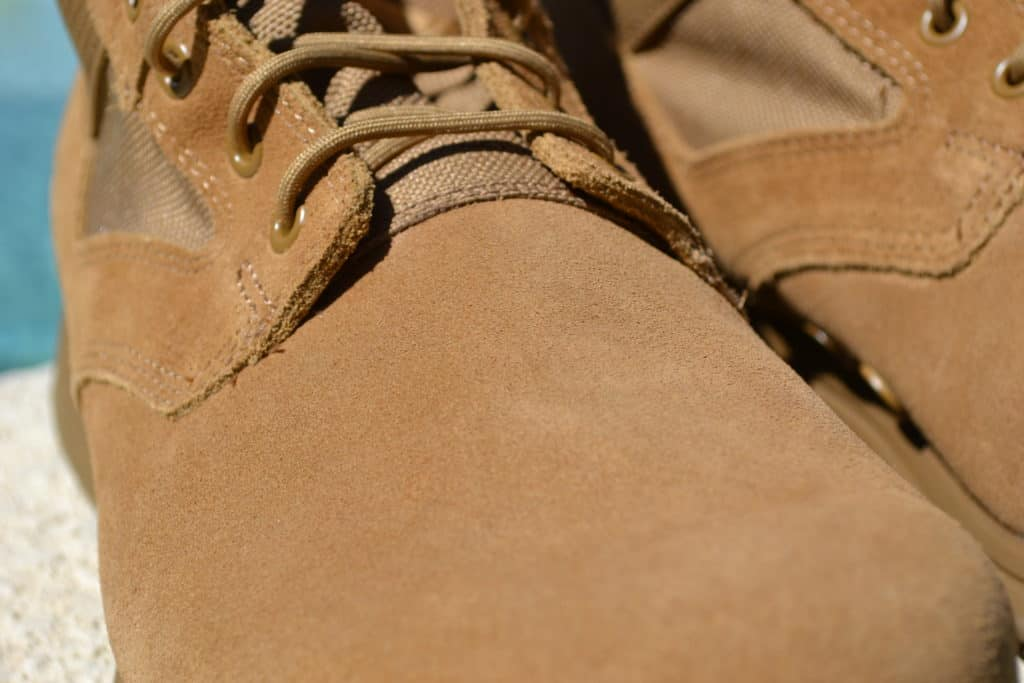 "GORUCK MACV-1 Lightweight Rucking Boot in Coyote Suede (6"")"