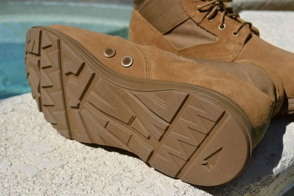 GORUCK MACV-1 Lightweight Rucking Boot in Coyote Suede (6