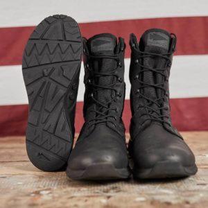 GORUCK MACV-1 Boot Black Leather 8-inch