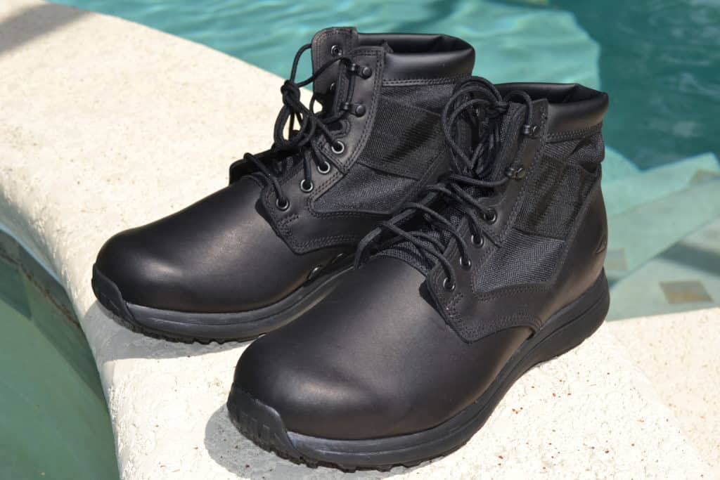GORUCK MACV-1 Black Leather Boot