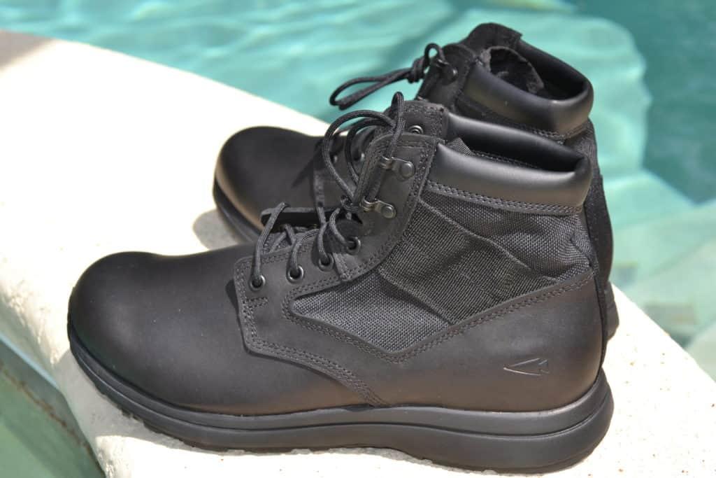 GORUCK MACV-1 Black Leather - 6 Inch boot (Gen 2)