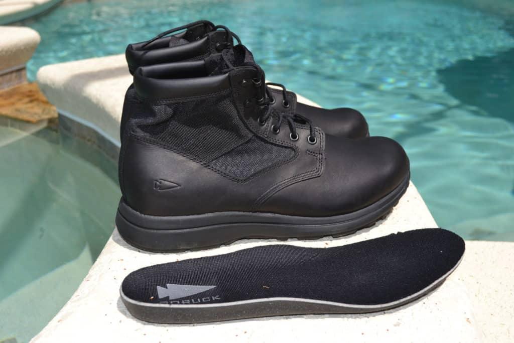 GORUCK MACV-1 Black Leather Boot - Gen 2