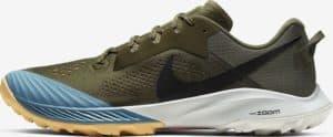 Nike Air Zoom Terra Kiger 6 in Medium Olive/Orange Trance/Cerulean/Black