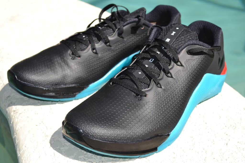candidato Abolido Rústico  Nike Metcon 5 AMP WETEST Fade Away Upper Shoe Review - Cross Train Clothes