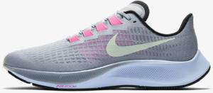 Nike Air Zoom Pegasus 37 Running Shoe in Obsidian Mist/Black/Lotus Pink/Hydrogen Blue