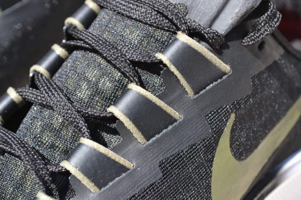 Nike Air Zoom Pegasus 37 fitband closeup