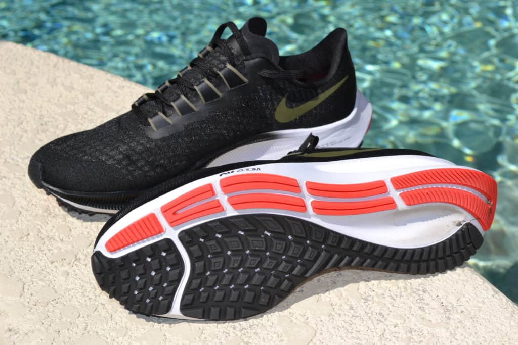 Nike Air Zoom Pegasus 37 - Side and Outsole