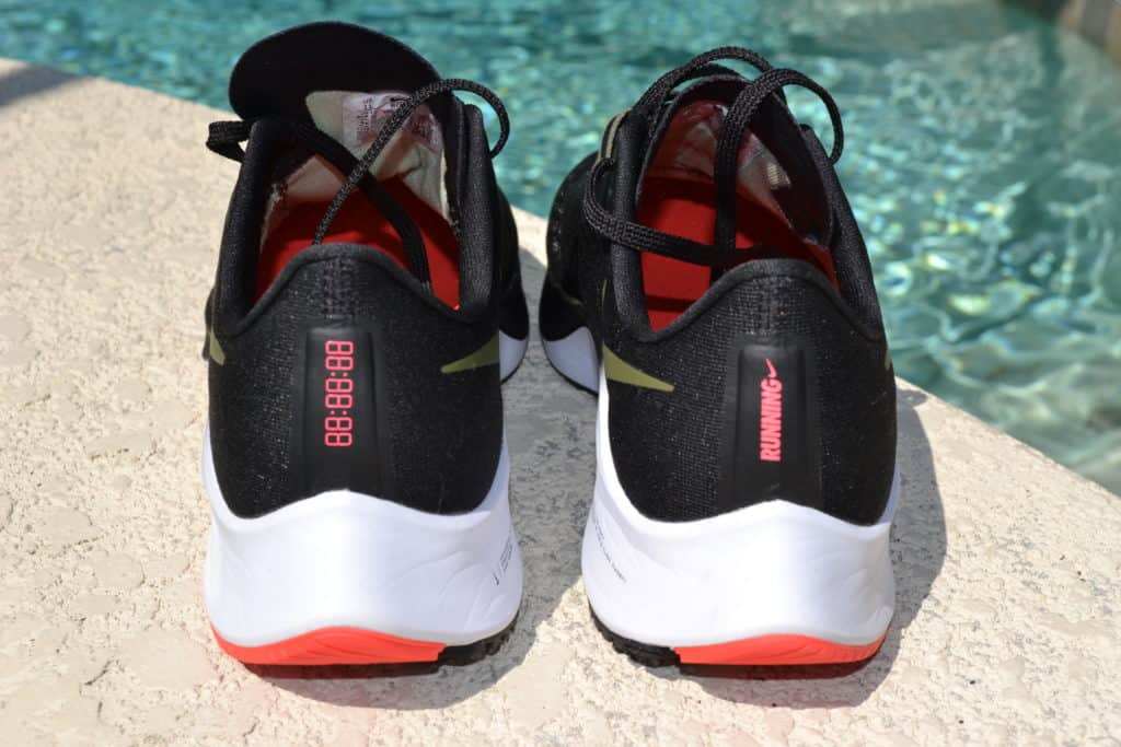 Nike Air Zoom Pegasus 37 heel reflectors