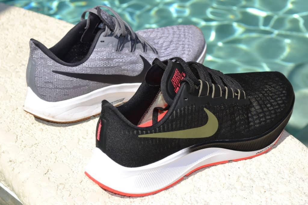 Nike Air Zoom Pegasus 36 heel to heel