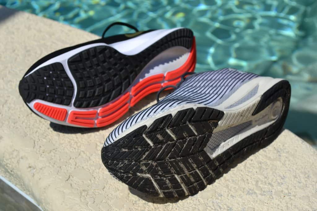 UA Velociti 2 Running Shoe sole to sole