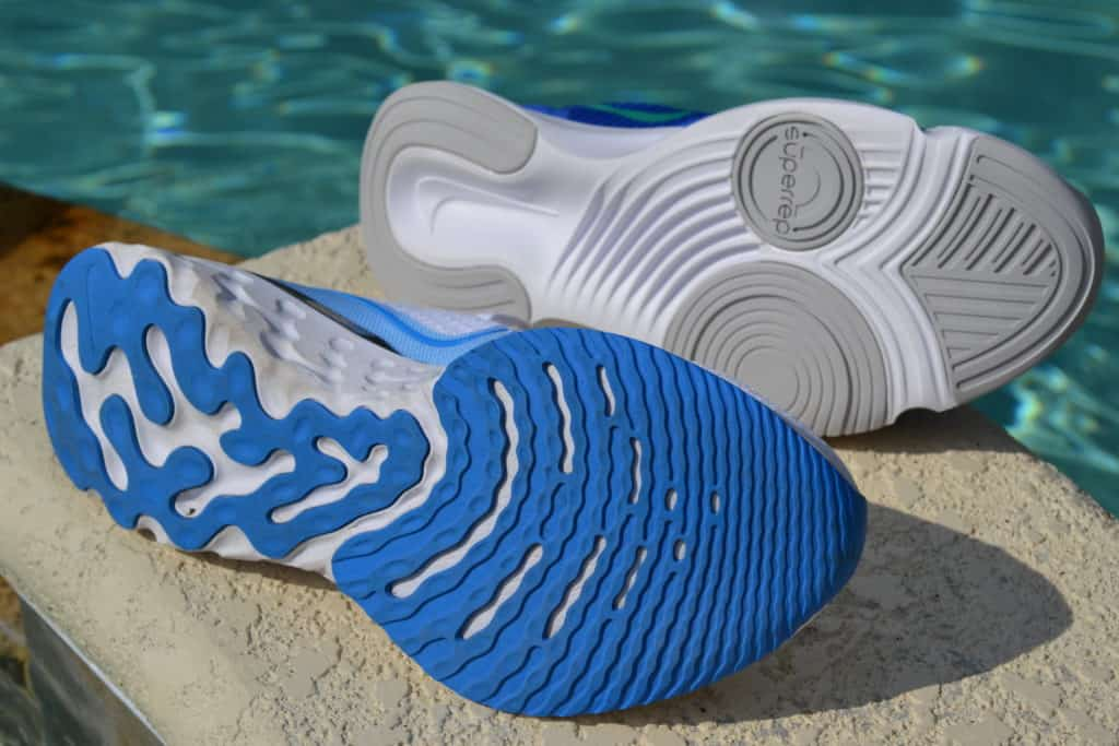 Nike SuperRep Go Training Shoe versus Nike React Infinity Run Flyknit Running Shoe - Sole to Sole
