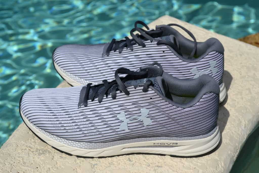 UA HOVR Velociti 2 Running Shoe by Under Armour - Side View