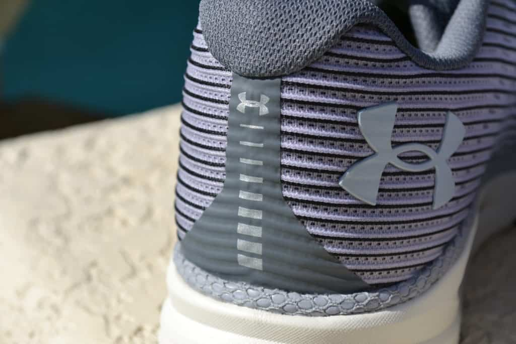 UA HOVR Velociti 2 Running Shoe by Under Armour - Reflective Heel