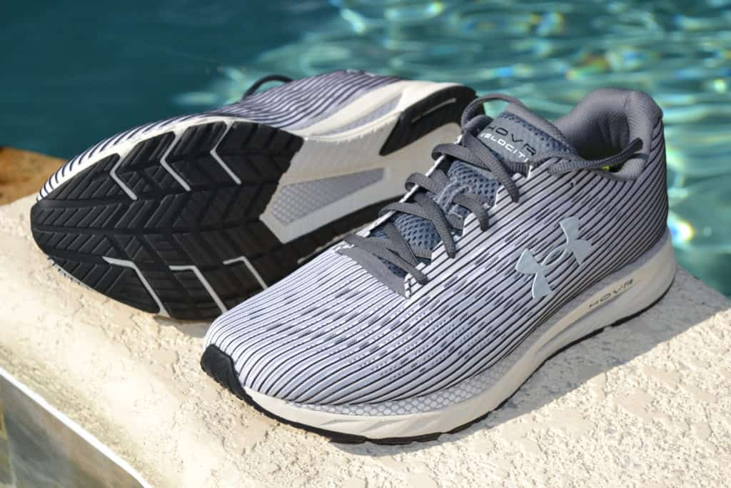 UA HOVR Velociti 2 Running Shoe by Under Armour - Side and Sole 2