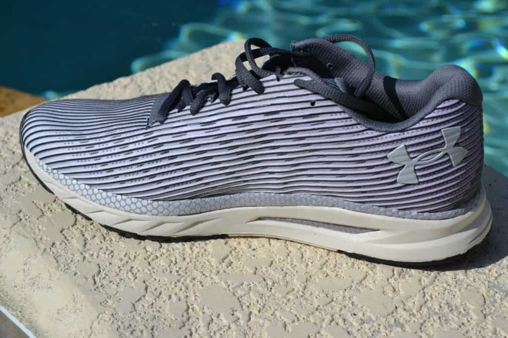 UA HOVR Velociti 2 Running Shoe by Under Armour - On the inside