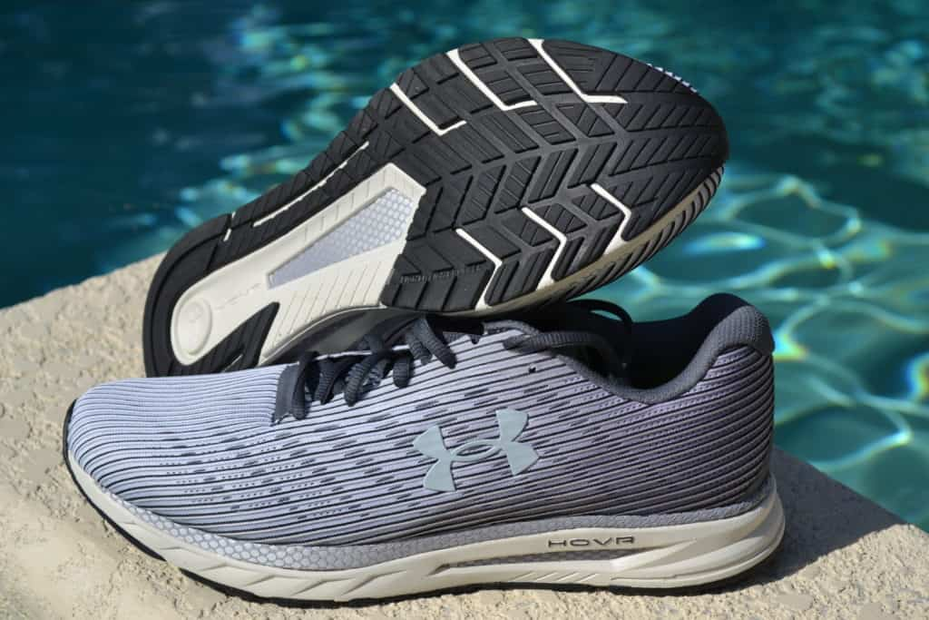 UA HOVR Velociti 2 Running Shoe by Under Armour - Stacked 2