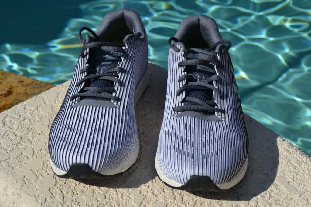 UA HOVR Velociti 2 Running Shoe by Under Armour - Top Front