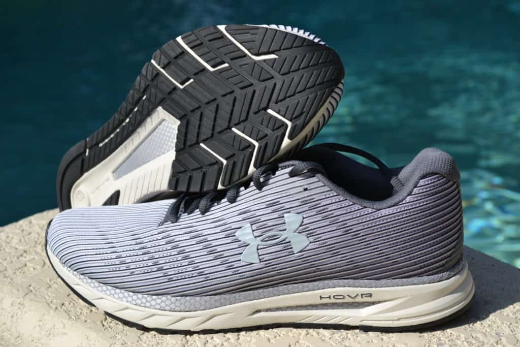 UA HOVR Velociti 2 Running Shoe by Under Armour - Side and Sole Stacked