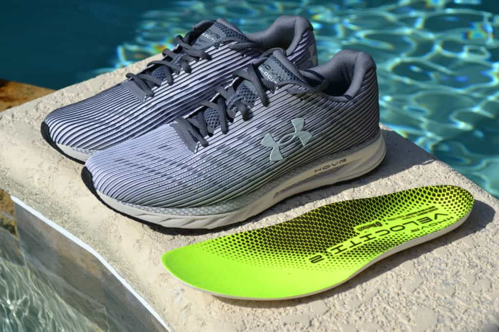 UA HOVR Velociti 2 Running Shoe by Under Armour - Insole