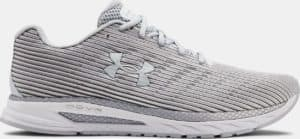 UA HOVR Velociti 2 Running Shoes in Halo Gray/Pitch Gray from Under Armour
