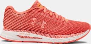 UA HOVR Velociti 2 Women's Running Shoes in Coral Dust/Peach Plasma