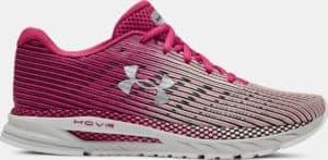 UA HOVR Velociti 2 Women's Running Shoe - Impulse Pink/Gray Flux