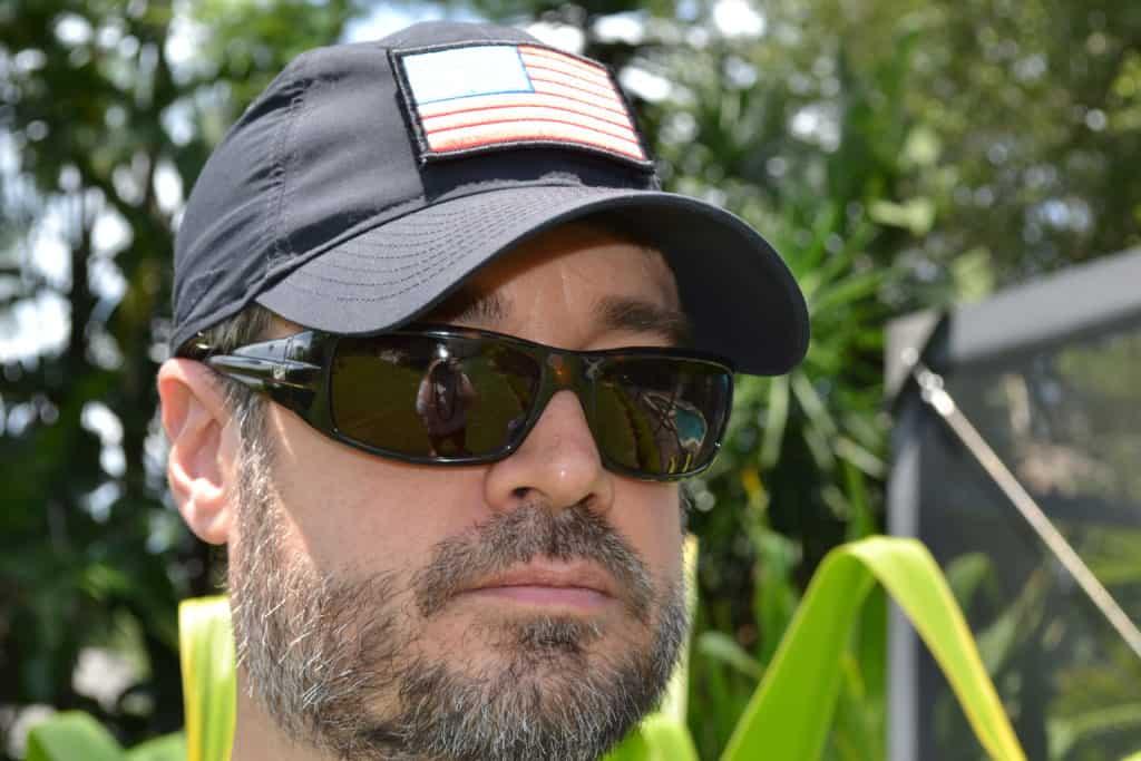 GORUCK TAC Hat has a curved Brim