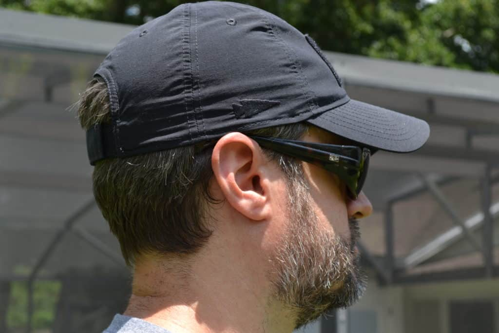 6 Panel construction of the GORUCK TAC Hat.