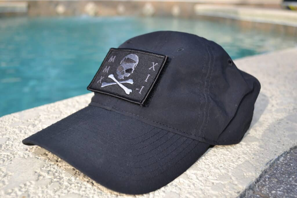 GORUCK Tribe Patch Seek Pain (5) on TAC Hat