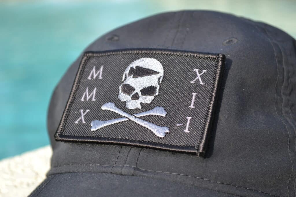 GORUCK Tribe Patch Seek Pain on TAC Hat