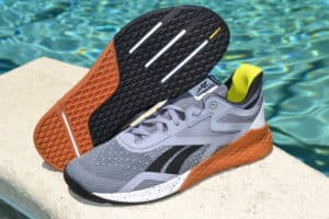 Reebok Nano X Cross Training Shoe - outsole view and side