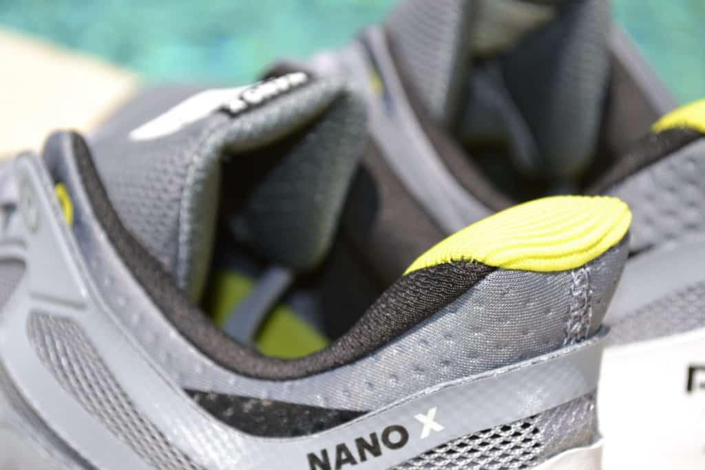 Reebok Nano X Cross Training Shoe - Collar Closeup